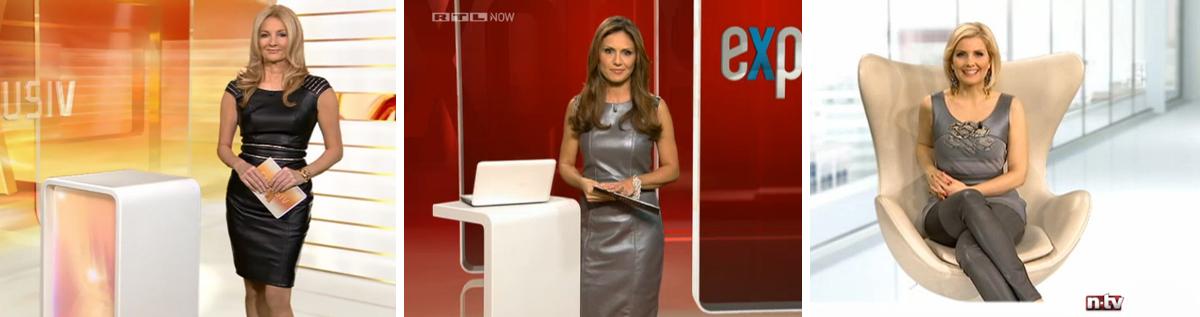 Cuir Royal Ledermode_RTL_NTV_Frauke Ludowig_Nazan Eckes_Jennifer Knaeble